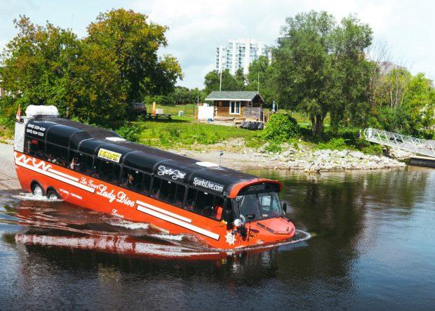 Amphibus Land and Water Tour