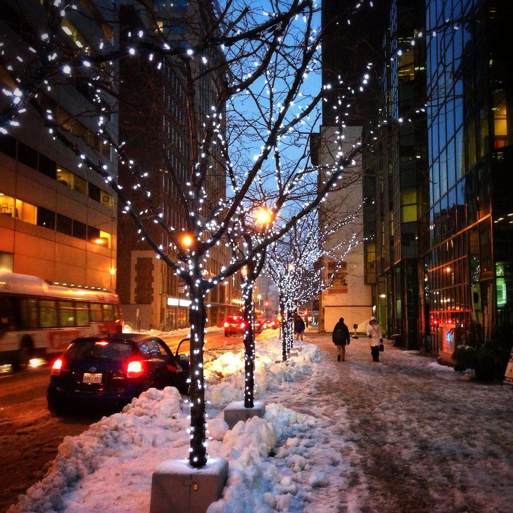 Ottawa sightseeing Winter