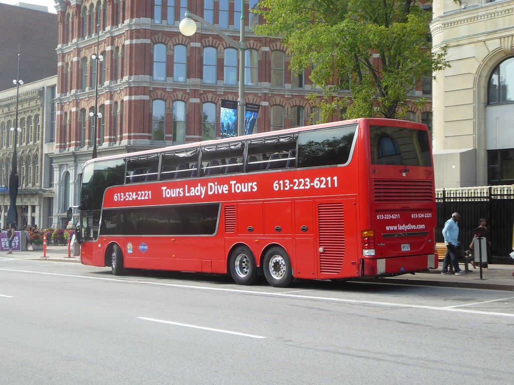 Lady DIve Tour Bus